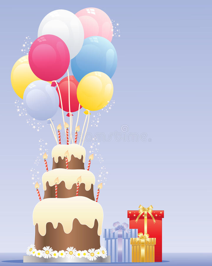 Download Birthday Balloons Royalty Free Stock Image - Image: 26806816