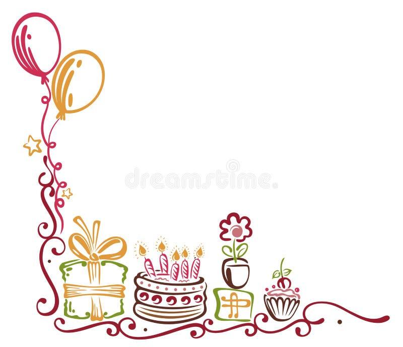 Birthday Border Stock Images Image 33573694