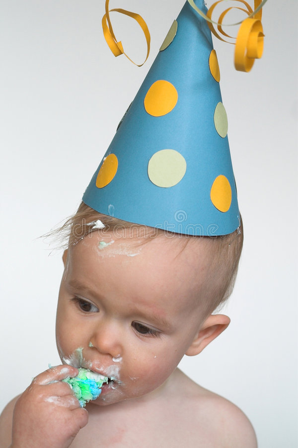 Download Birthday Boy stock photo. Image of fresh, funny, frosting - 2311270