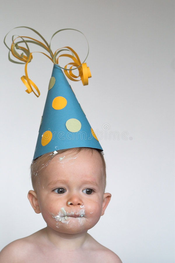 Download Birthday Boy stock photo. Image of handsome, skin, icing - 2378554