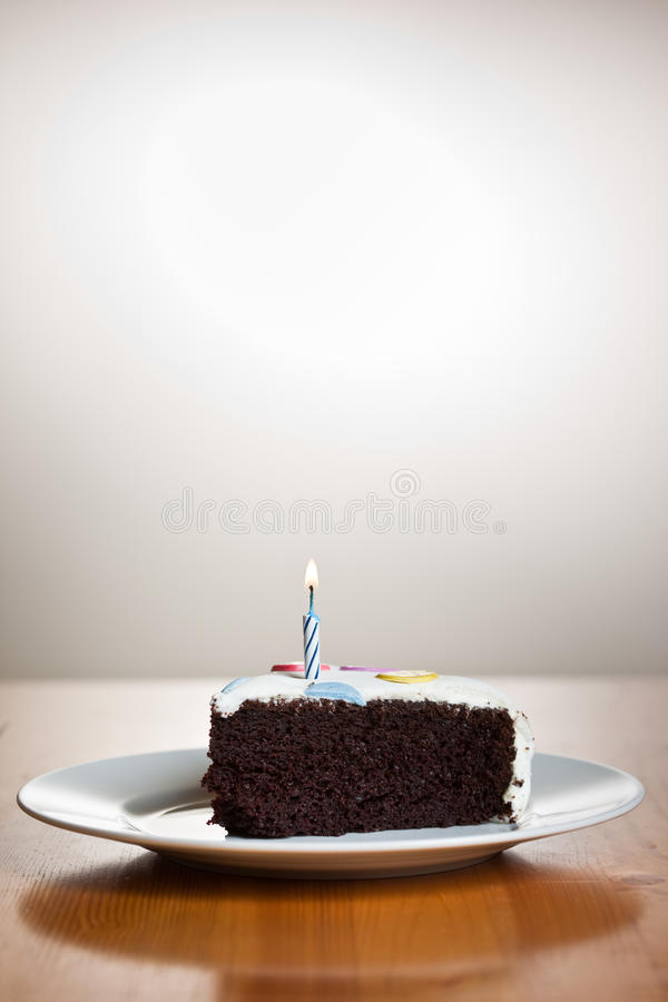 Birthday cake. A shot of a delicious homemade birthday cake royalty free stock images