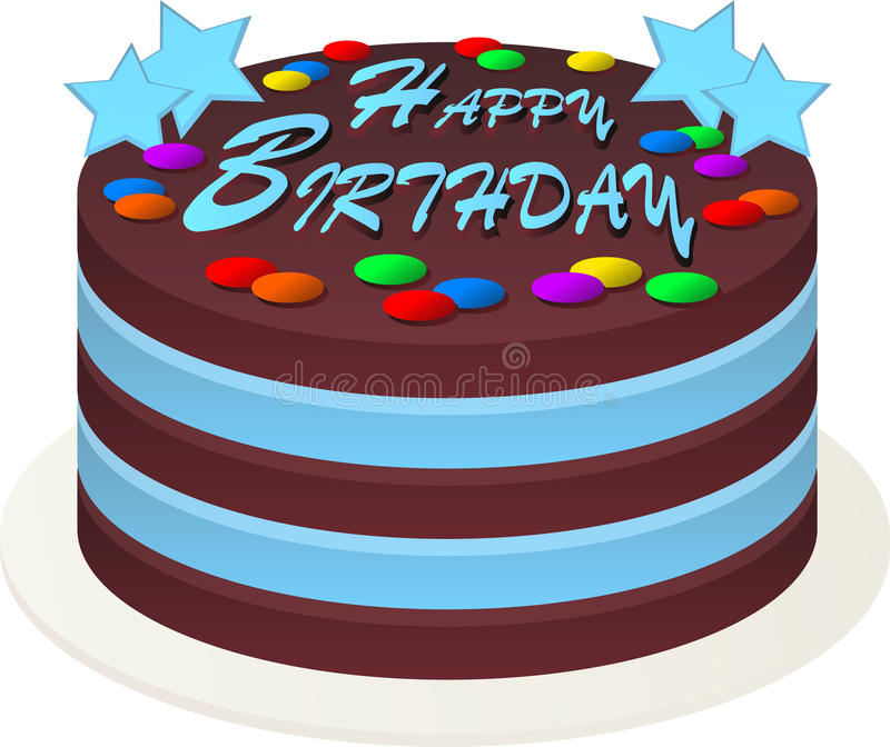 Birthday Cake Stock Illustration Illustration Of Font 16292266