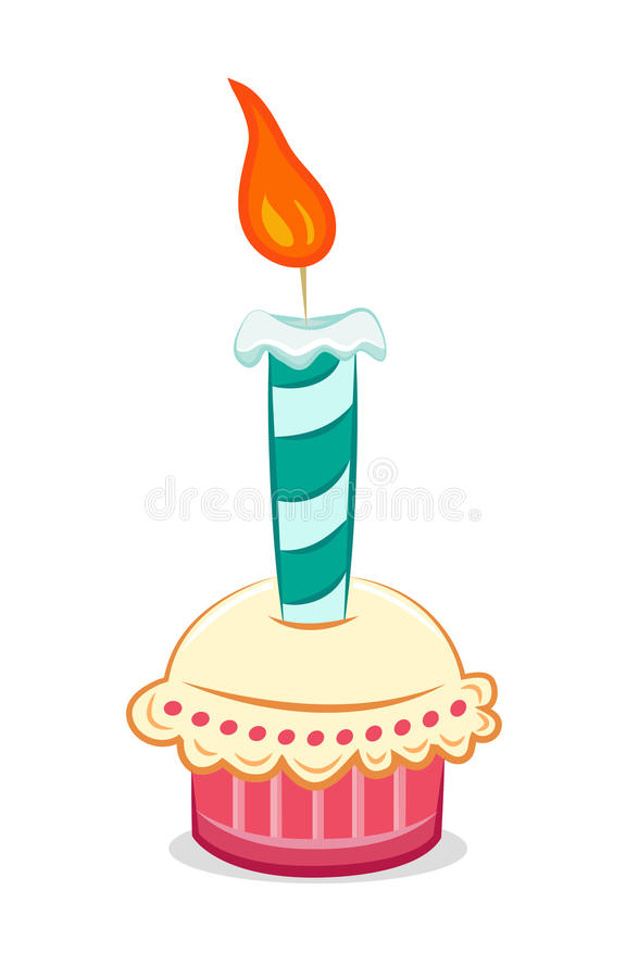 Download Birthday Cake stock illustration. Image of anniversary - 19007412