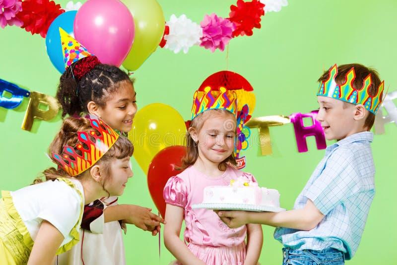 Birthday cake royalty free stock image