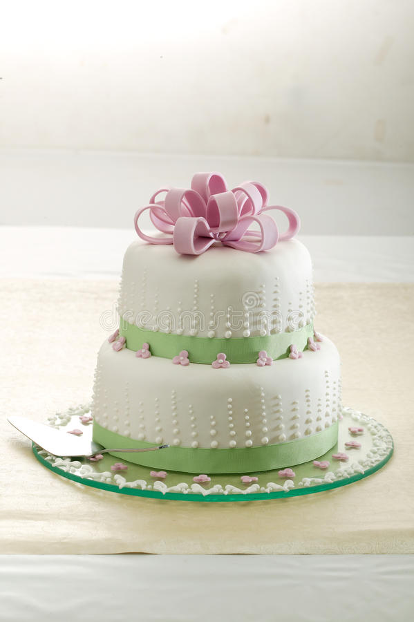 Download Birthday Cake stock image. Image of layer, green, sweet - 20014055