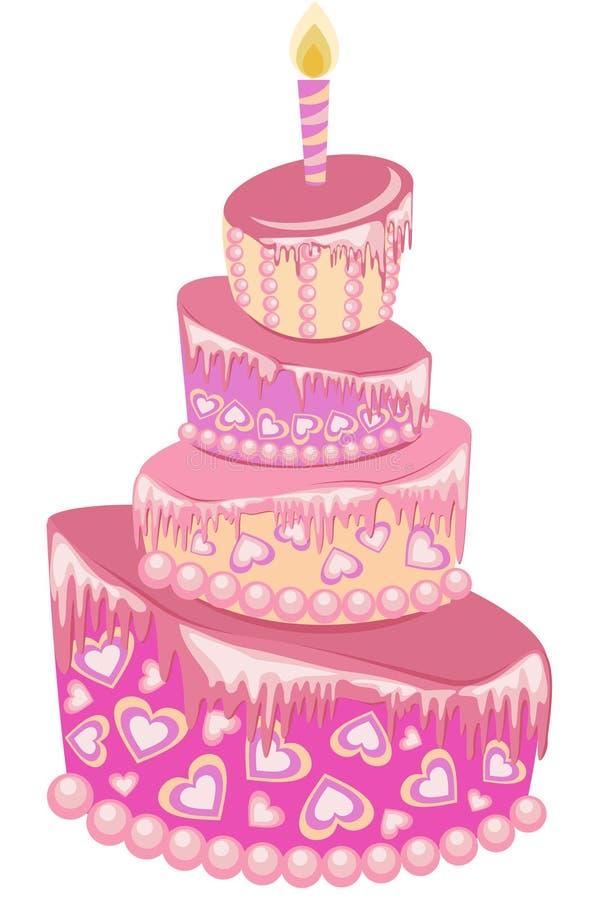 Download Birthday Cake Royalty Free Stock Photo - Image: 25784895