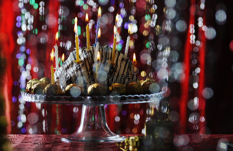 Birthday Cake. Stock Photography