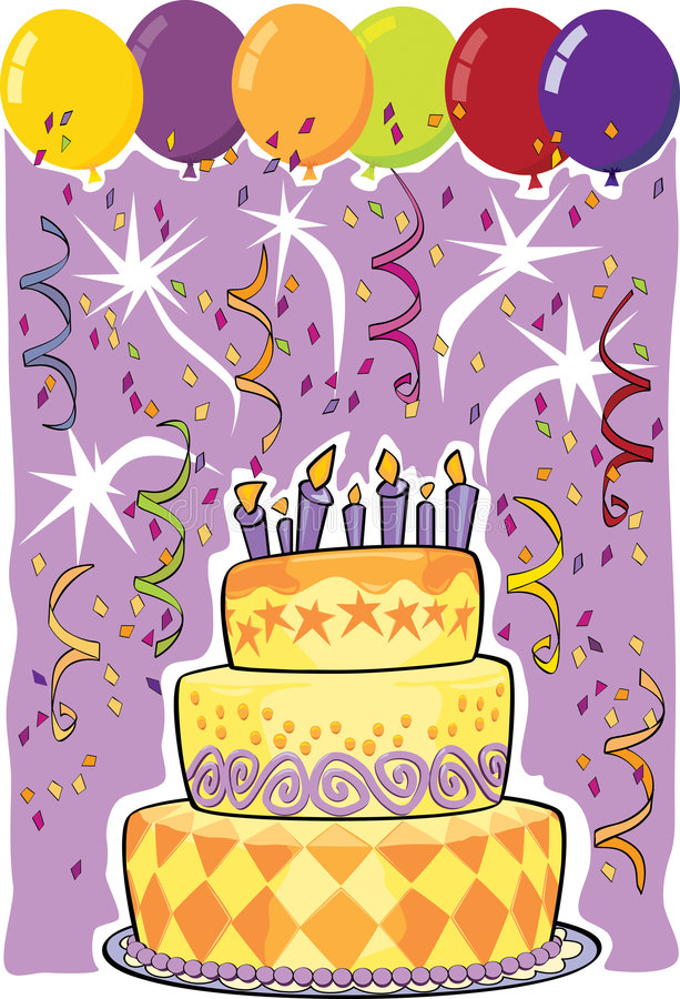 Download Birthday Cake Royalty Free Stock Photography - Image: 5632677
