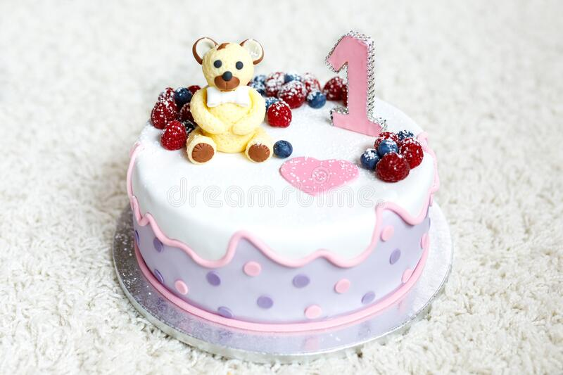 Terrific Birthday Cake For Baby Child Girl Or Boy For First Birthday Funny Birthday Cards Online Inifofree Goldxyz