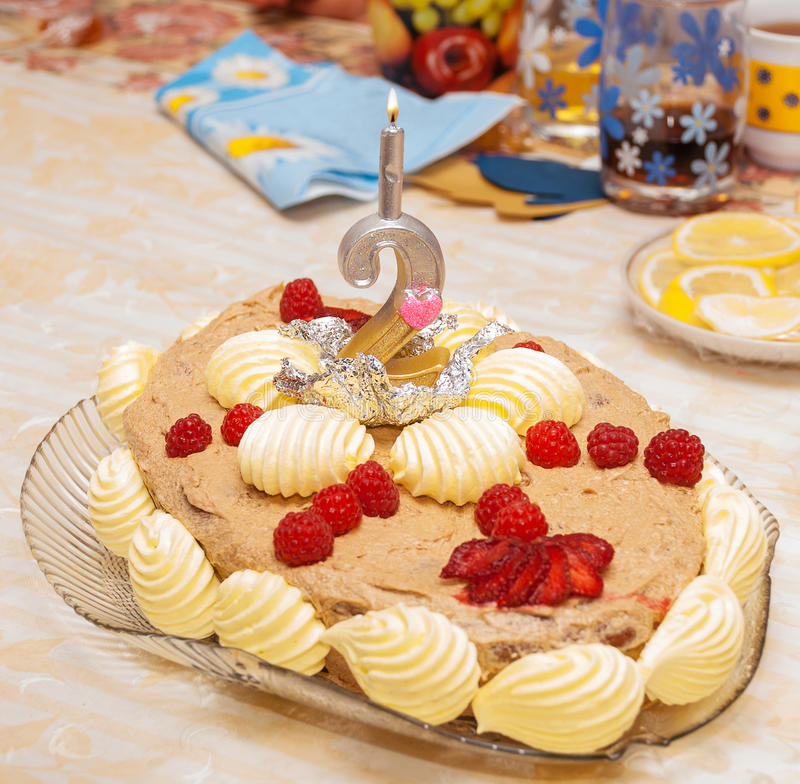 Download Birthday cake stock photo. Image of colorful, birthday - 32786468
