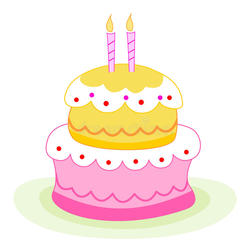 Birthday Cake / Candles Royalty Free Stock Image - Image ...