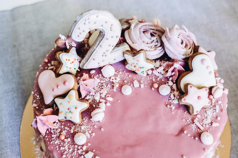 Pleasant Birthday Cake Girls Stock Photos Download 2 594 Royalty Free Photos Funny Birthday Cards Online Chimdamsfinfo