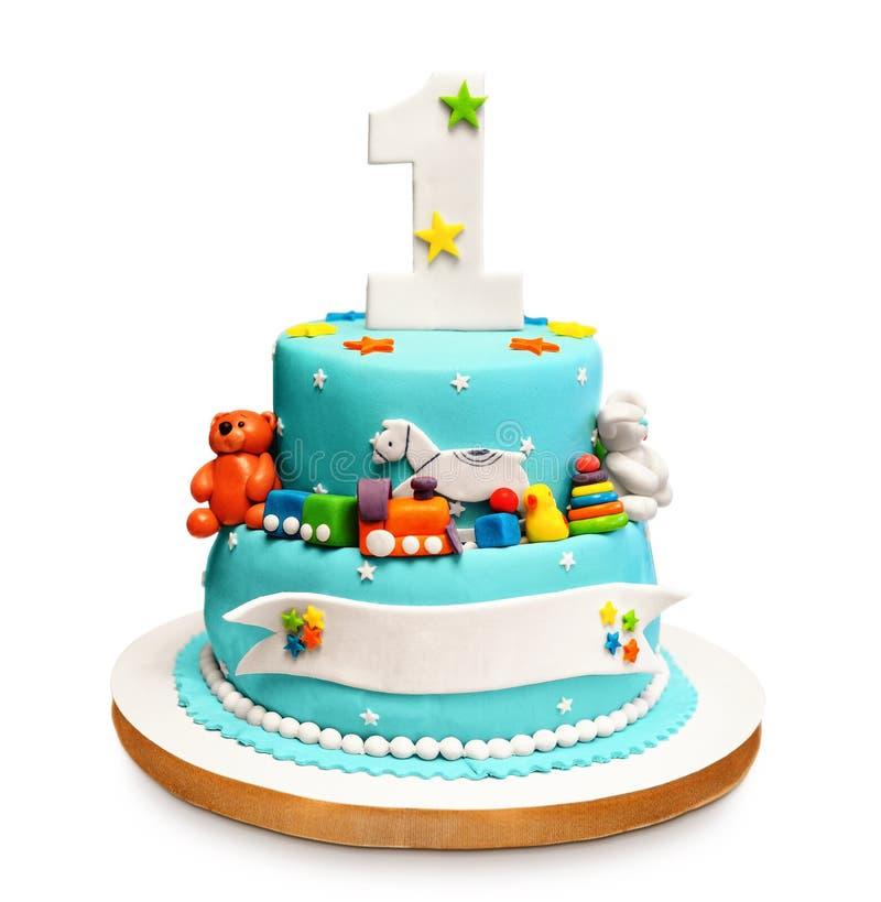 Birthday cake. royalty free stock images