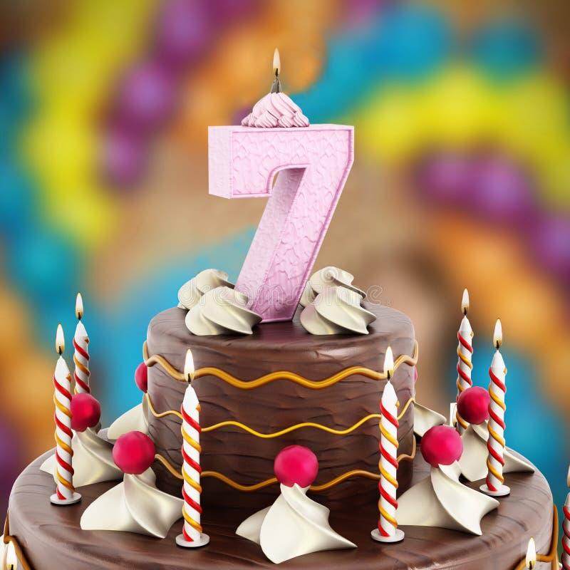 https://thumbs.dreamstime.com/b/birthday-cake-number-lit-candle-47578080.jpg