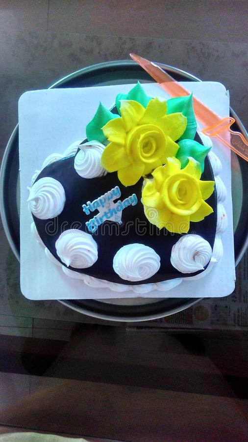 Birthday cake for party. This birthday cake is homemade in bakery style.this is the most testy stock photos