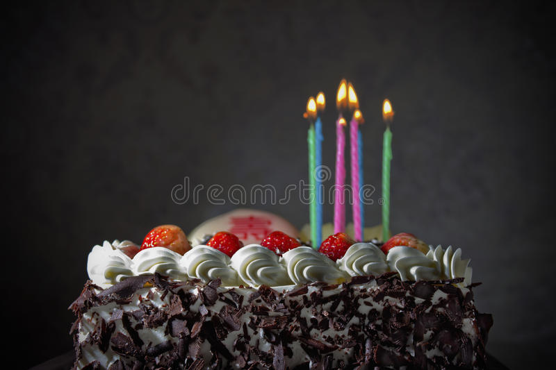 Birthday Cake. A photo of a birthday cake royalty free stock image