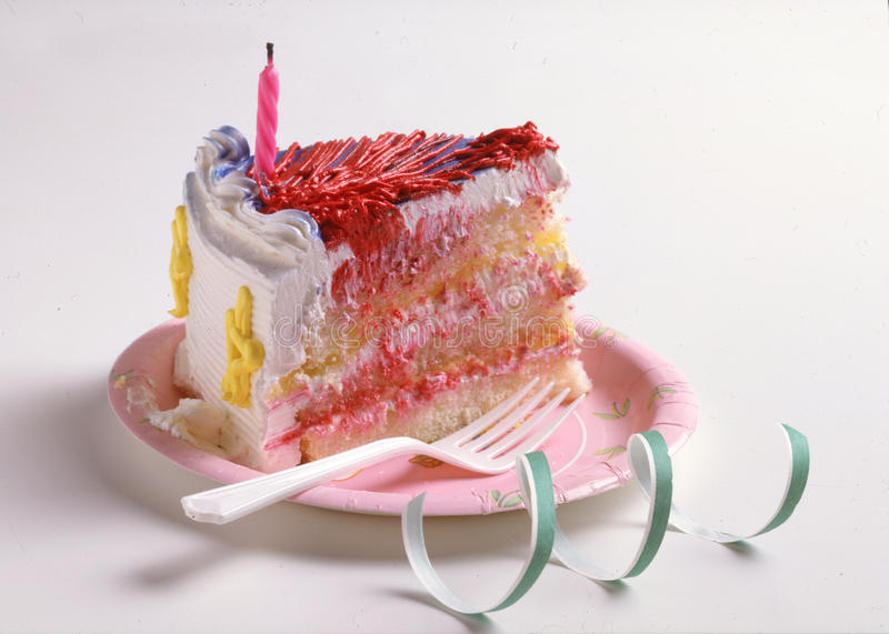 Download Birthday cake stock image. Image of yummy, piece, birthday - 54486799