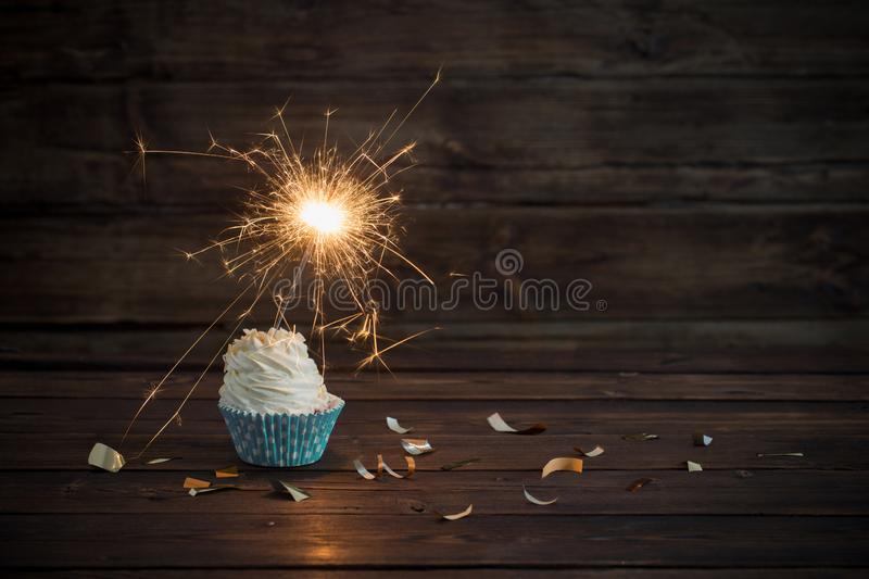 Outstanding Birthday Cake Sparkler Stock Photos Download 1 581 Royalty Free Funny Birthday Cards Online Fluifree Goldxyz
