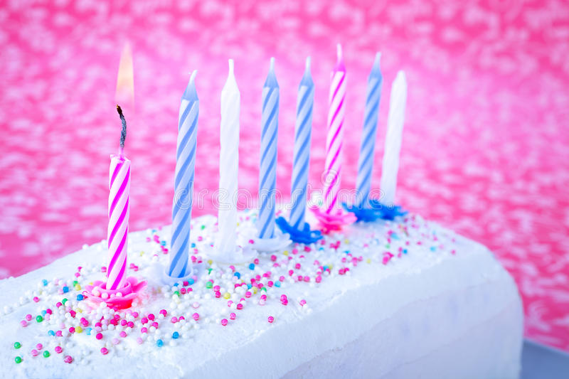 Download Birthday cake stock image. Image of icing, sweet, color - 32191845