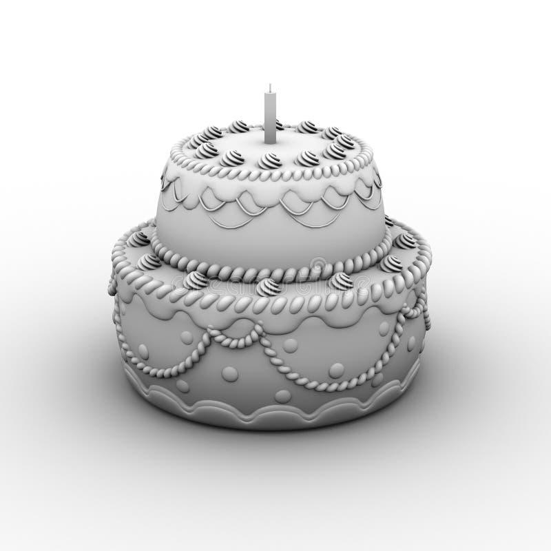 Download Birthday cake stock illustration. Illustration of birthday - 32905529