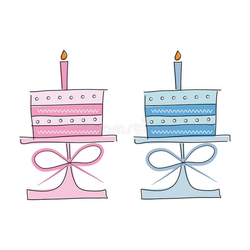Download Birthday Cakes Stock Images - Image: 25140764