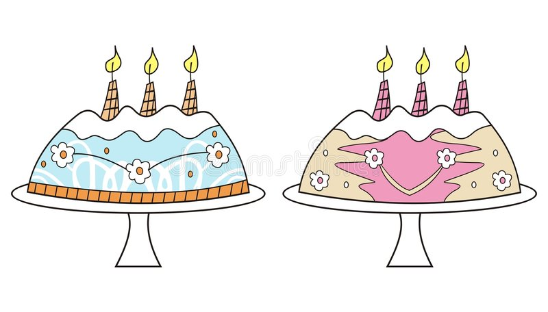 Download Birthday Cakes Stock Images - Image: 5488534