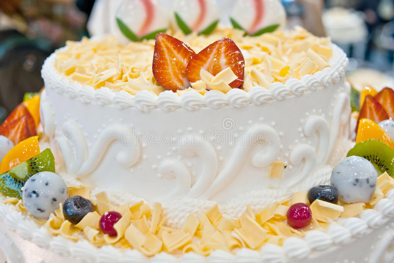 Birthday cakes, pastries design. Pastries design stock photography