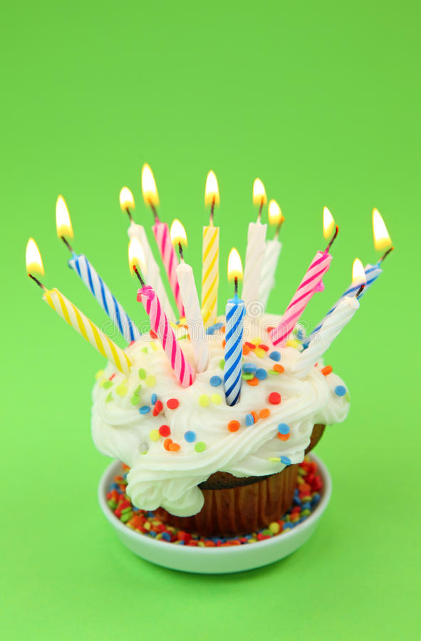 Download Birthday candles stock image. Image of color, anniversary - 10887705
