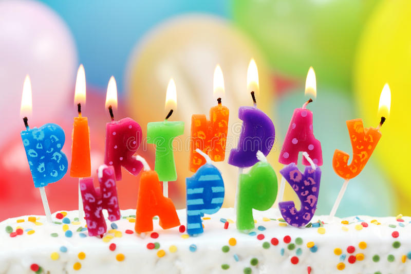 Download Birthday Candles Stock Image - Image: 15407381