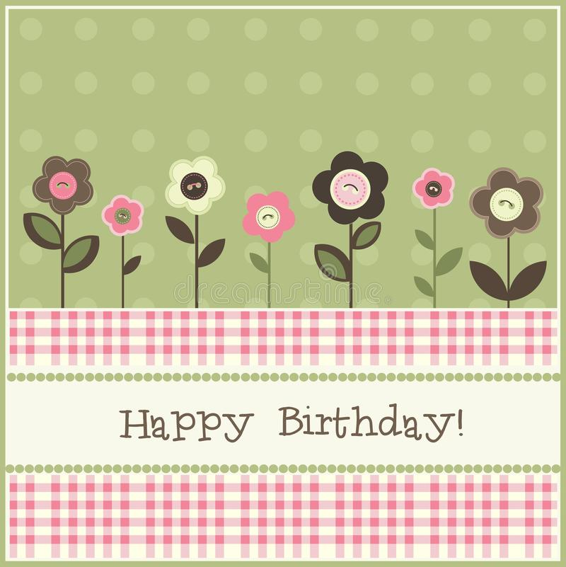 Download Birthday card stock vector. Illustration of greeting - 18440232