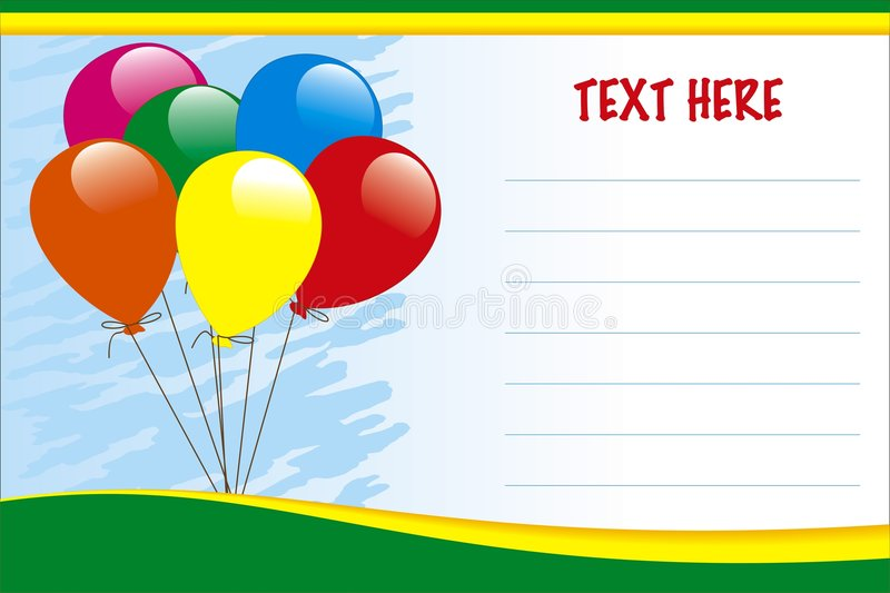 Download Birthday Card Royalty Free Stock Image - Image: 8071926