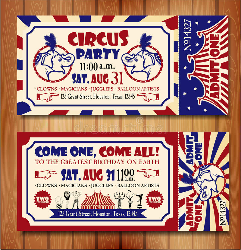 Birthday card with circus ticket stock vector illustration of download birthday card with circus ticket stock vector illustration of twins acrobat 58604419 bookmarktalkfo Gallery