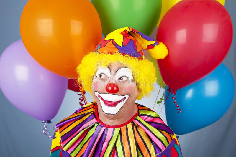 Birthday Clown royalty free stock photography