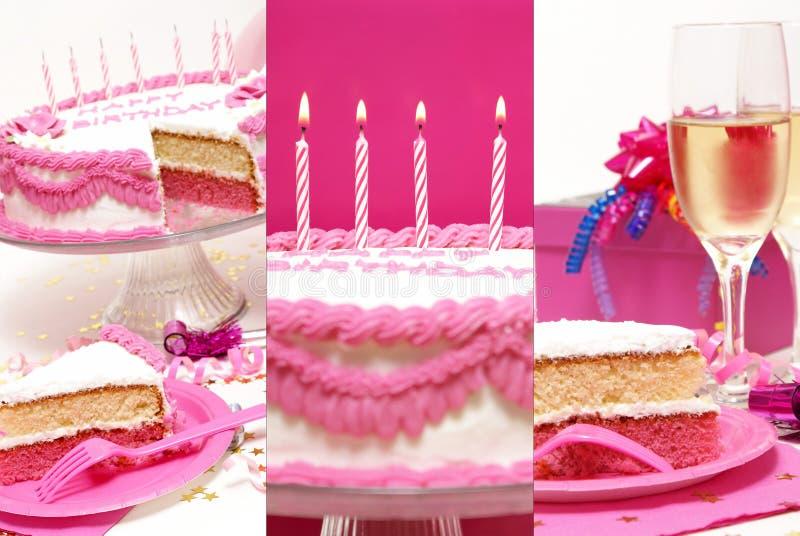 Birthday Collage royalty free stock photos