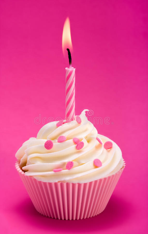 Download Birthday cupcake stock image. Image of baked, butter - 13616007