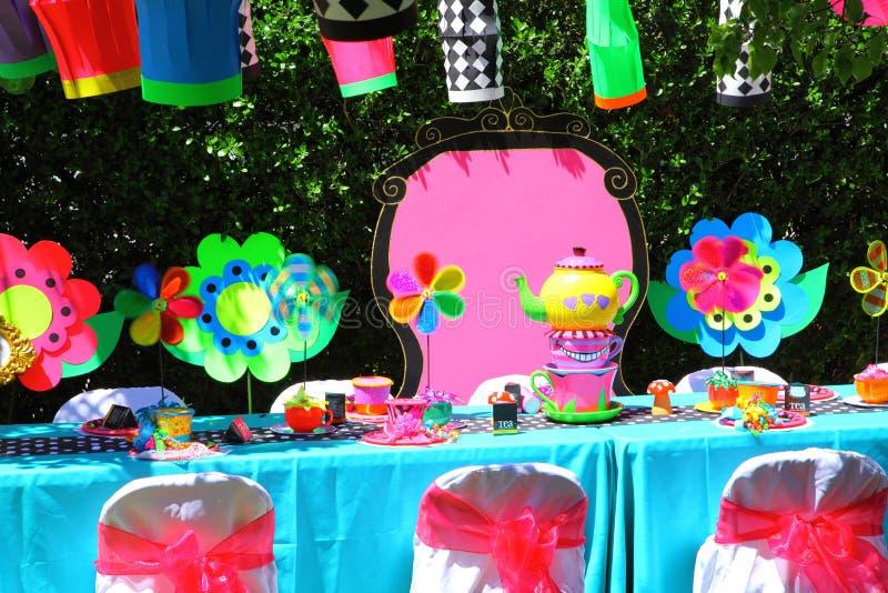 Birthday Decorations stock image