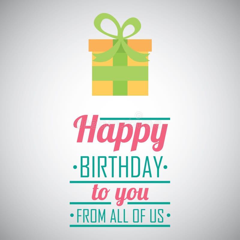 Birthday design. Birthday graphic design , vector illustration vector illustration