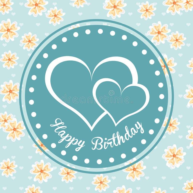 Birthday design. Birthday graphic design , vector illustration stock illustration