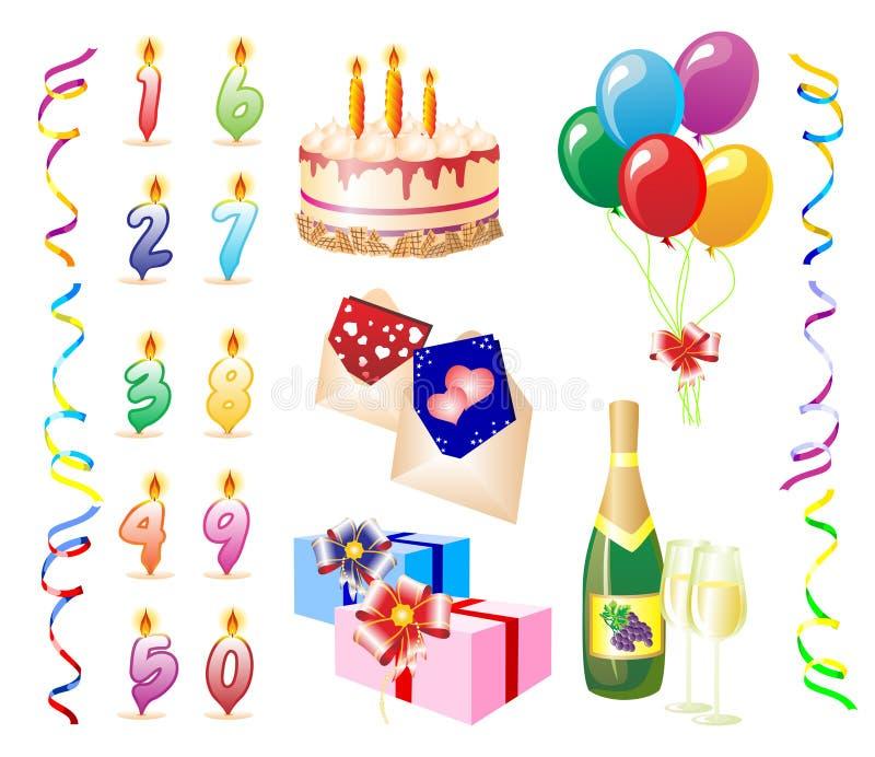 Birthday.eps illustration libre de droits