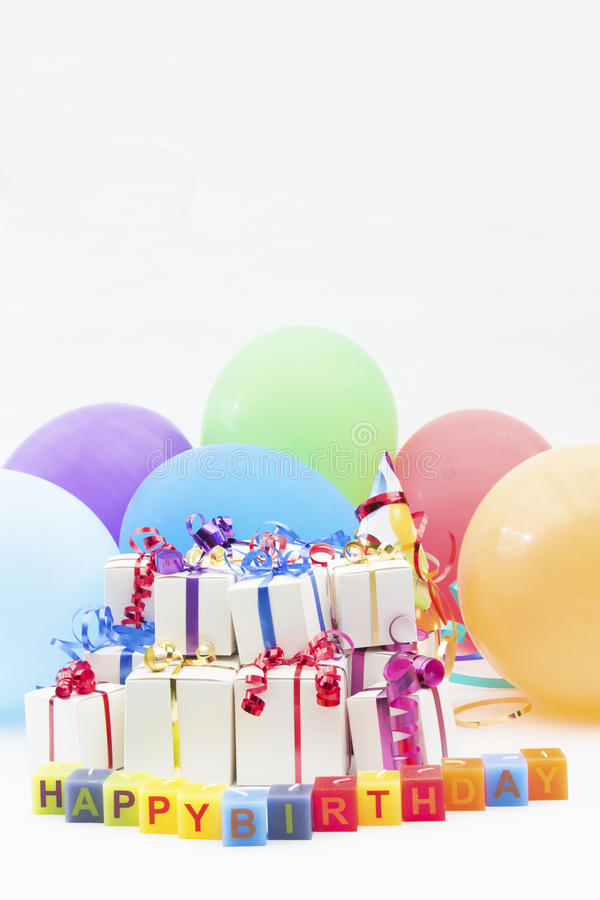 Birthday gifts and balloons stock photo image of packaging gift download birthday gifts and balloons stock photo image of packaging gift 31385164 negle Choice Image