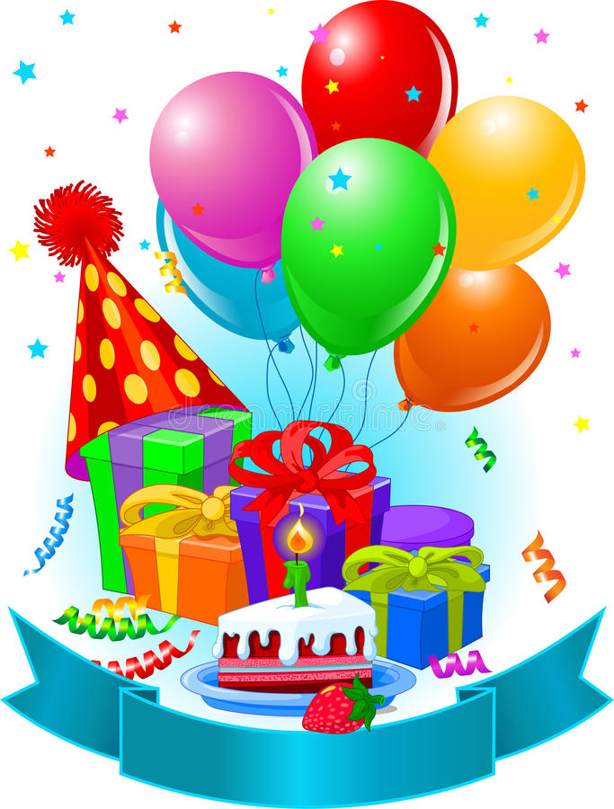 Download Birthday Gifts And Decoration Stock Vector - Image: 16656572