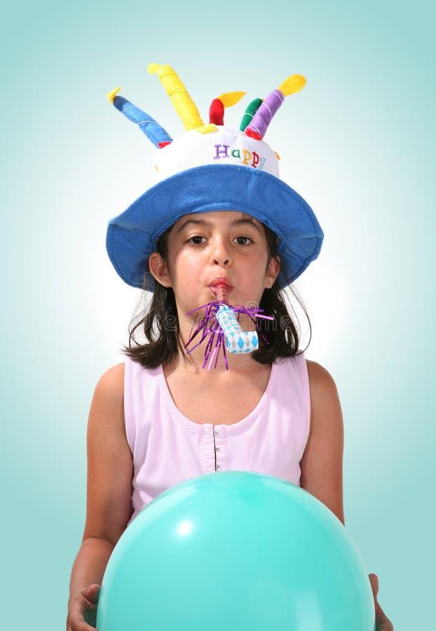 Birthday Girl royalty free stock photo