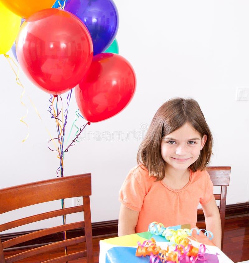 Birthday Girl stock photography