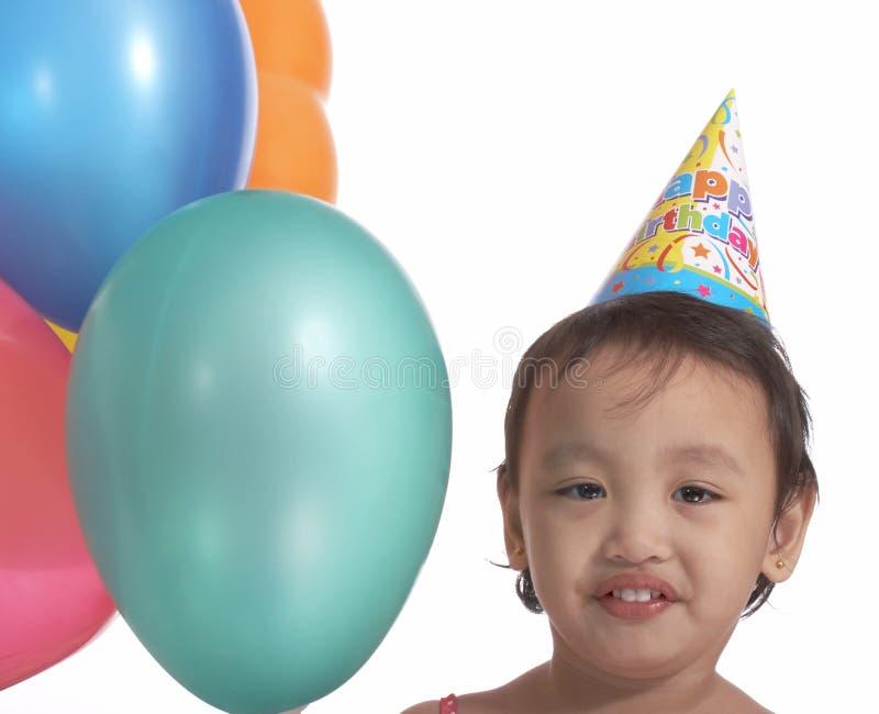 Birthday girl stock photos