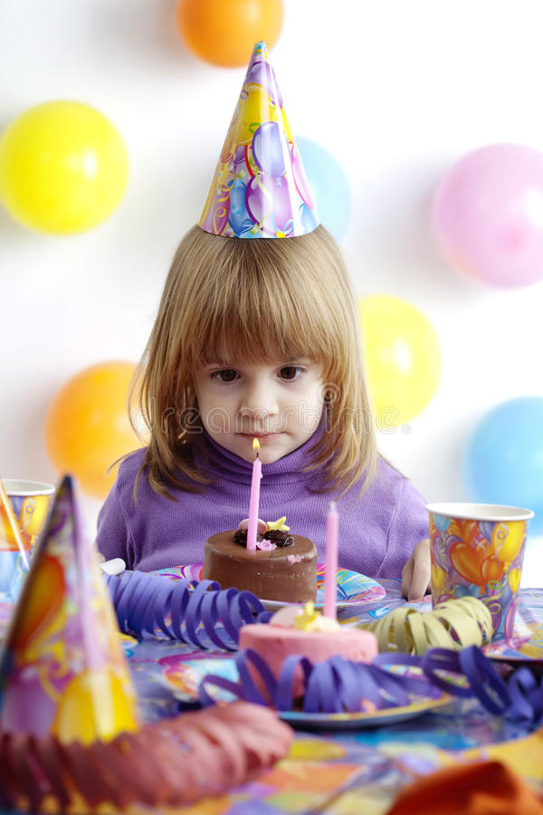 Download Birthday Girl Royalty Free Stock Images - Image: 9516719