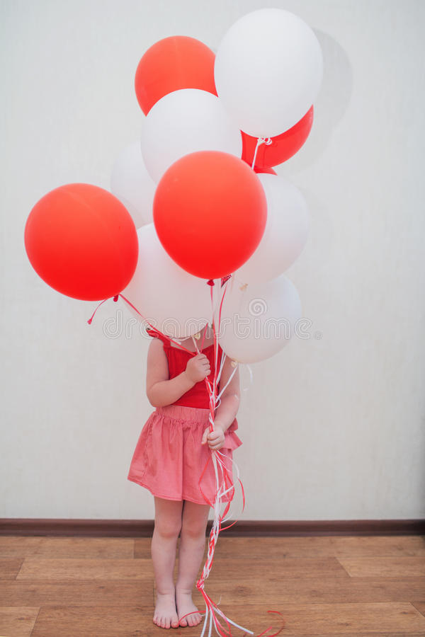 The birthday girl royalty free stock images