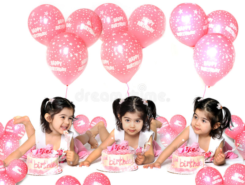 Birthday girl2 royalty free stock photo