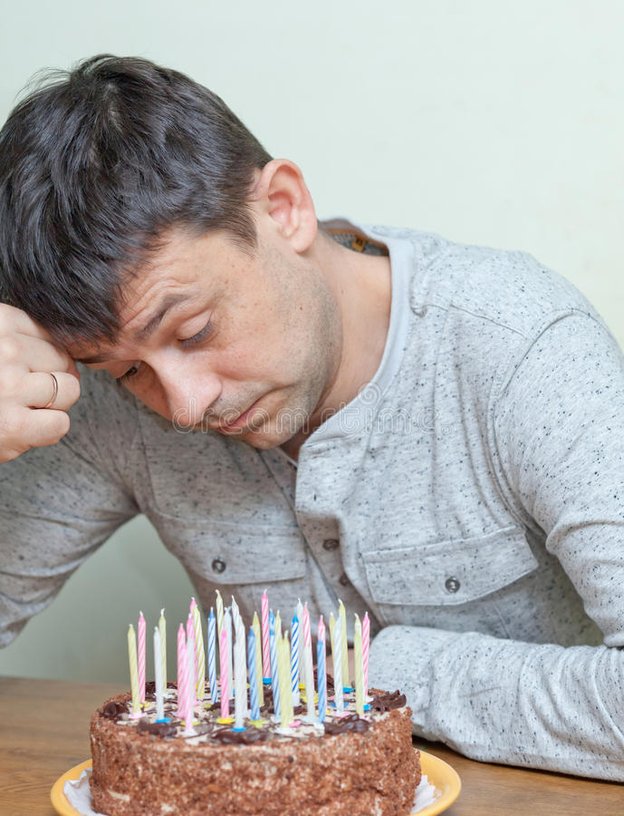 Download Birthday of man stock image. Image of events, candle - 24397239