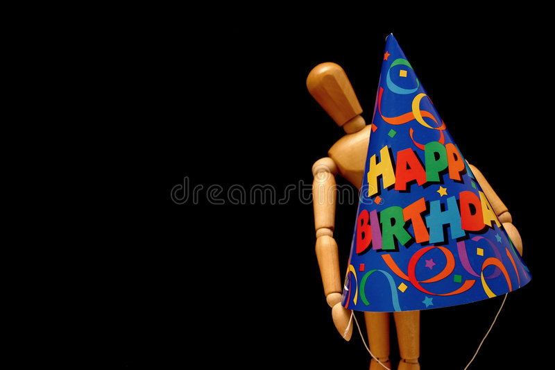 Birthday Mannequin Stock Photography