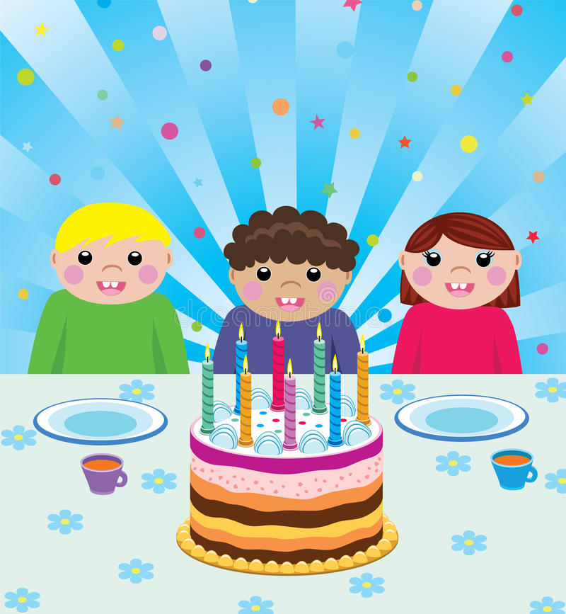 Download Birthday Party Royalty Free Stock Images - Image: 12382479
